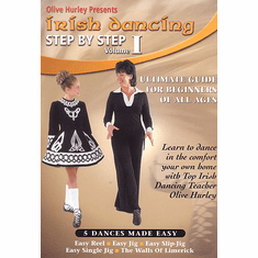 Irish Dancing - Step By Step - Video Volume 1 Olive Hurley (DVD)