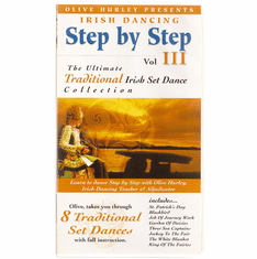 Irish Dancing Step by Step Video Volume 3 Olive Hurley DVD