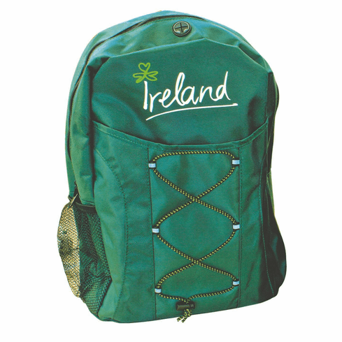 Irish Green Backpack
