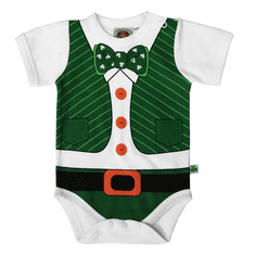 Irish Leprechaun Babies Vest