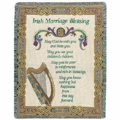 Irish Marriage Throw