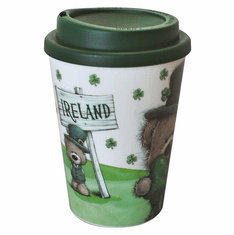 Irish Paddy Bear Travel Mug / Cup
