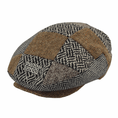 Patrick Francis Irish Patchwork Tweed Flat Cap