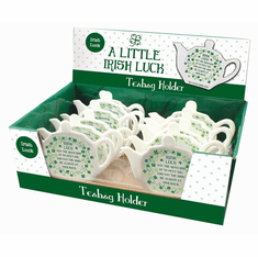 Irish Tea Bag Holder