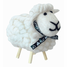 Irish White Sheep Toy