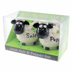 Irish Wooley Jumper Salt N' Pepper Set