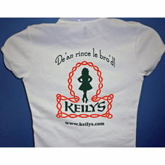 Keilys Irish Dance With Pride cap sleeve T-Shirt