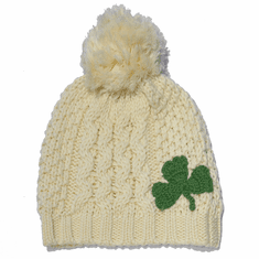 Kids Shamrock Hat Cream