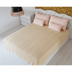 King Bed Wool Throw