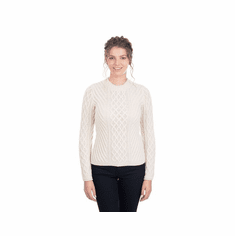 Ladies Aran Tunic Sweater