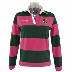 Lansdowne Green and Raspberry Ladies Ireland Polo Shirt