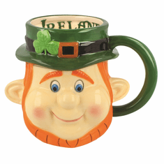 Leprechaun Head Mug