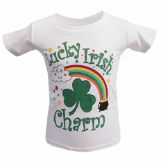 Lucky Irish Charm Kids T-Shirt