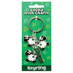 Lucky Sheep Keyring