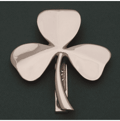 "Medium Brass Shamrock ""Failte"" Door Knocker"