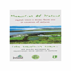 Memories of Ireland 2 CD Set.  Songs form 32 Counties