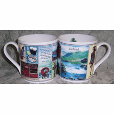 Memories Of Ireland Mug Fine Bone China Made in England by Ashley