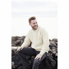 Men's Irish Wool Sweater