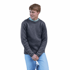 Men's Merino Wool Roll Neck Sweater
