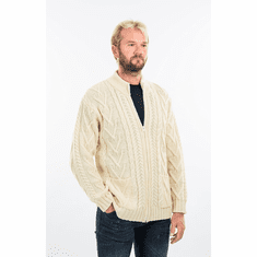 Mens Zipper Cardigan