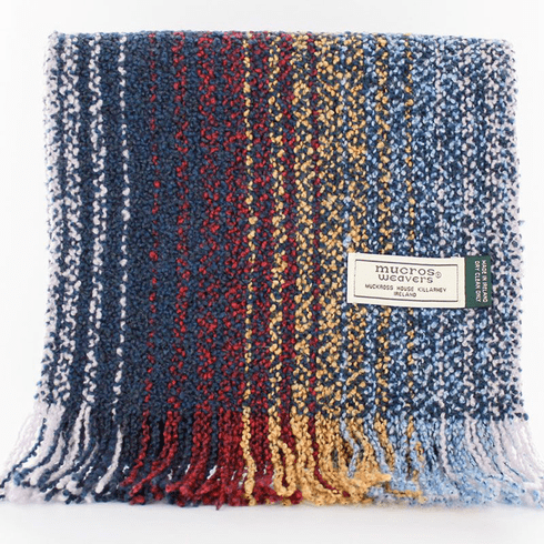 Mucros Weavers Cashmere and Wool Blend Celtic Scarf