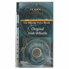 Nickle Pro D Tin Whistle and Tutor Book & CD Pack