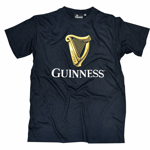 Official Guinness Trademark Label Tee