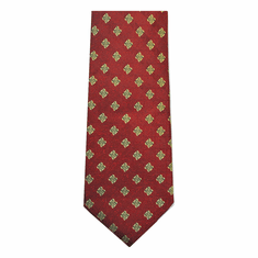 Patrick Francis Red Celtic Silk Tie