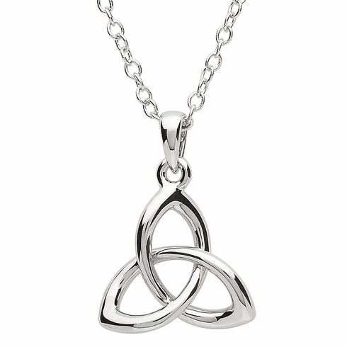 Platinum Plated Celtic Pendant