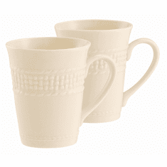Porcelain Weave Celtic Design 10oz Mug Set