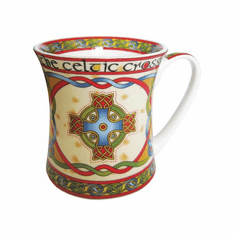 Royal Tara Celtic Cross Mug
