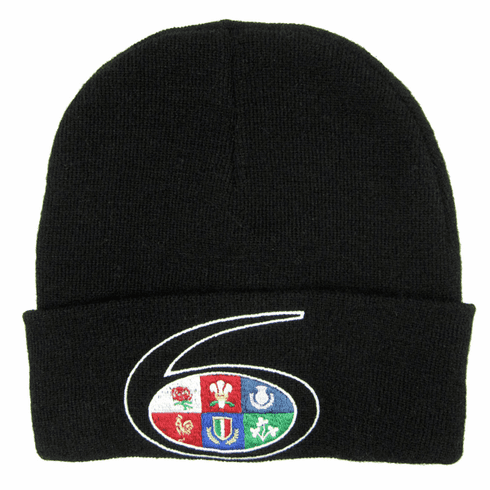 Rugby Six Nations Ski Hat