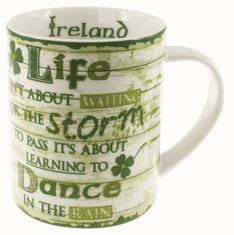 Rustic Irish Life Mug