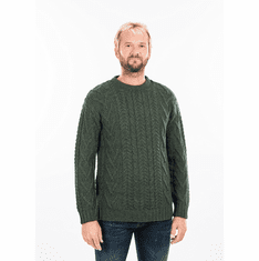 SAOL Irish Aran Crew Neck
