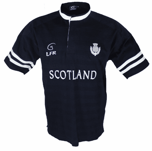 Scotland Cotton Rugby Shirt