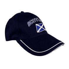Scotland Curved Flag Baseball Cap