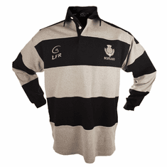Scotland Long Sleeve Striped Rugby Shirt