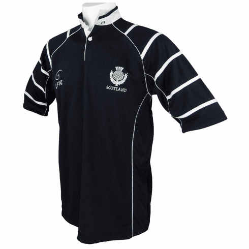 Scotland Thistle Breathable Rugby Shirt