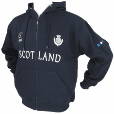 Scotland Thistle Full Zipper Hoody