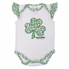Shamrock Applique Baby Vest