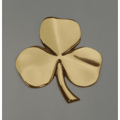 Shamrock Brass Wall Hanging