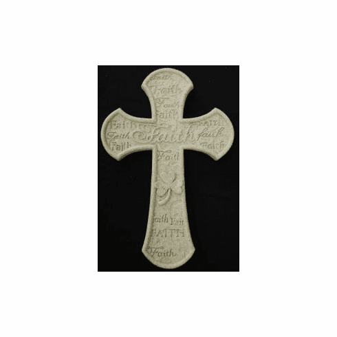 SHAMROCK FAITH CROSS