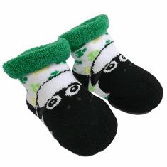 Shamrock Sheep Baby Socks