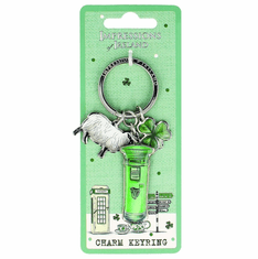 Sheep and Postbox Keyring
