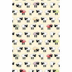 Sheep Cotton Tea Towel