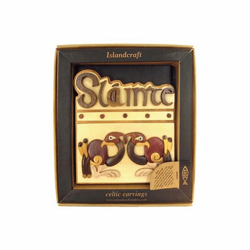 Slainte Wood Plaque