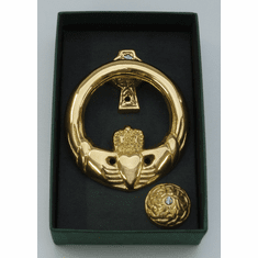 Small Claddagh Door Knocker Cross Back