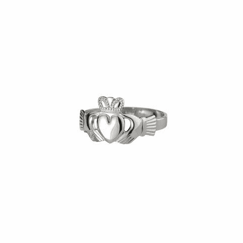 Sterling Silver Ladies Classic Claddagh