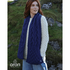 SuperSoft Merino Wool Stole with Pockets