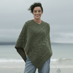 Triangular Ladies Knit Poncho